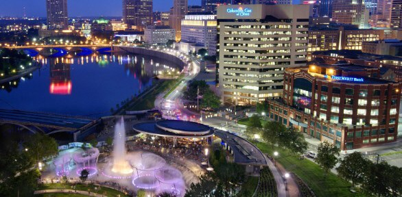 Bicentennial Park in Columbus, Ohio