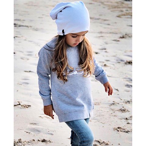 This adorable beau sweat-shirt now comes in adult sizes! Can't wait to match my little this fall.