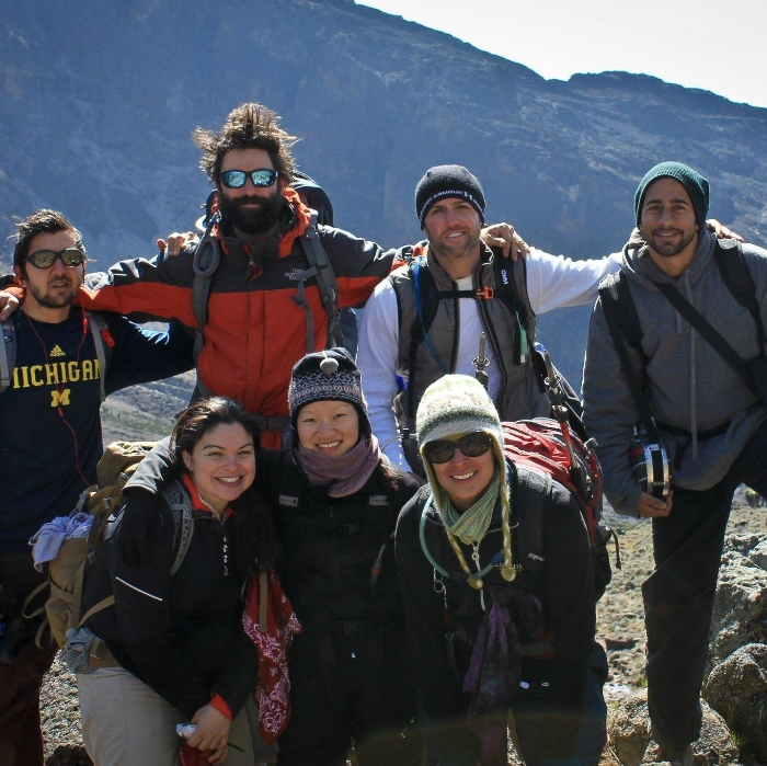 We convinced some good friends and some folks who we didn't really know all that well to tackle the highest mountain in Africa. Mount Kilimanjaro. Everyone summited safely and we all made some of the best friends in our lives through the seriously uncomfortable climb.