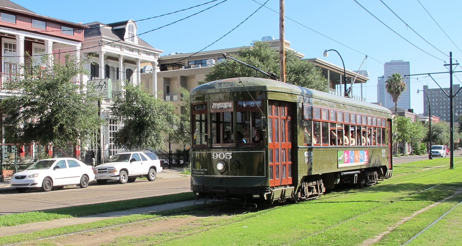 Streetcar In New Orleans Map.Nola Running Route For Visitors Map Included The Sweat Social
