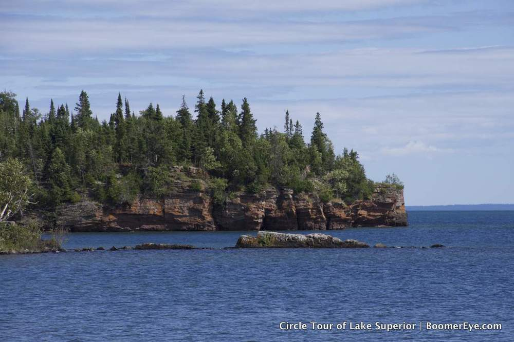 Point at Silver Islet, Ontario