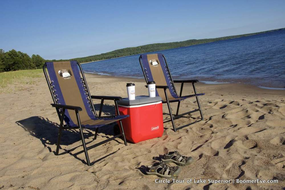 After leaving Thunder Bay, we made our way to Pancake Bay Provincial Park on the north North Shore of Lake Superior