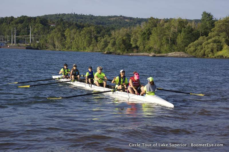 Upper Peninsula Women's Rowing by Mary Lascelles