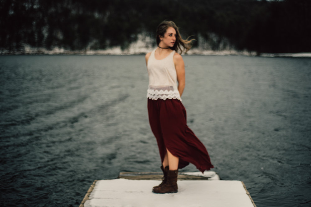 Moody Snowy Portrait Session at Lake Arrowhead in Luray Virginia_3.JPG