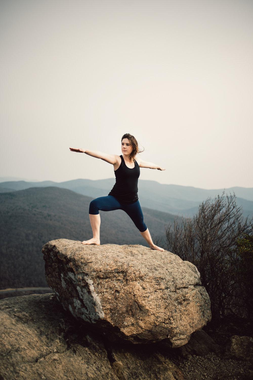 Yoga Mountain Top Yoga Portraits at Shenandoah National Park_6.JPG