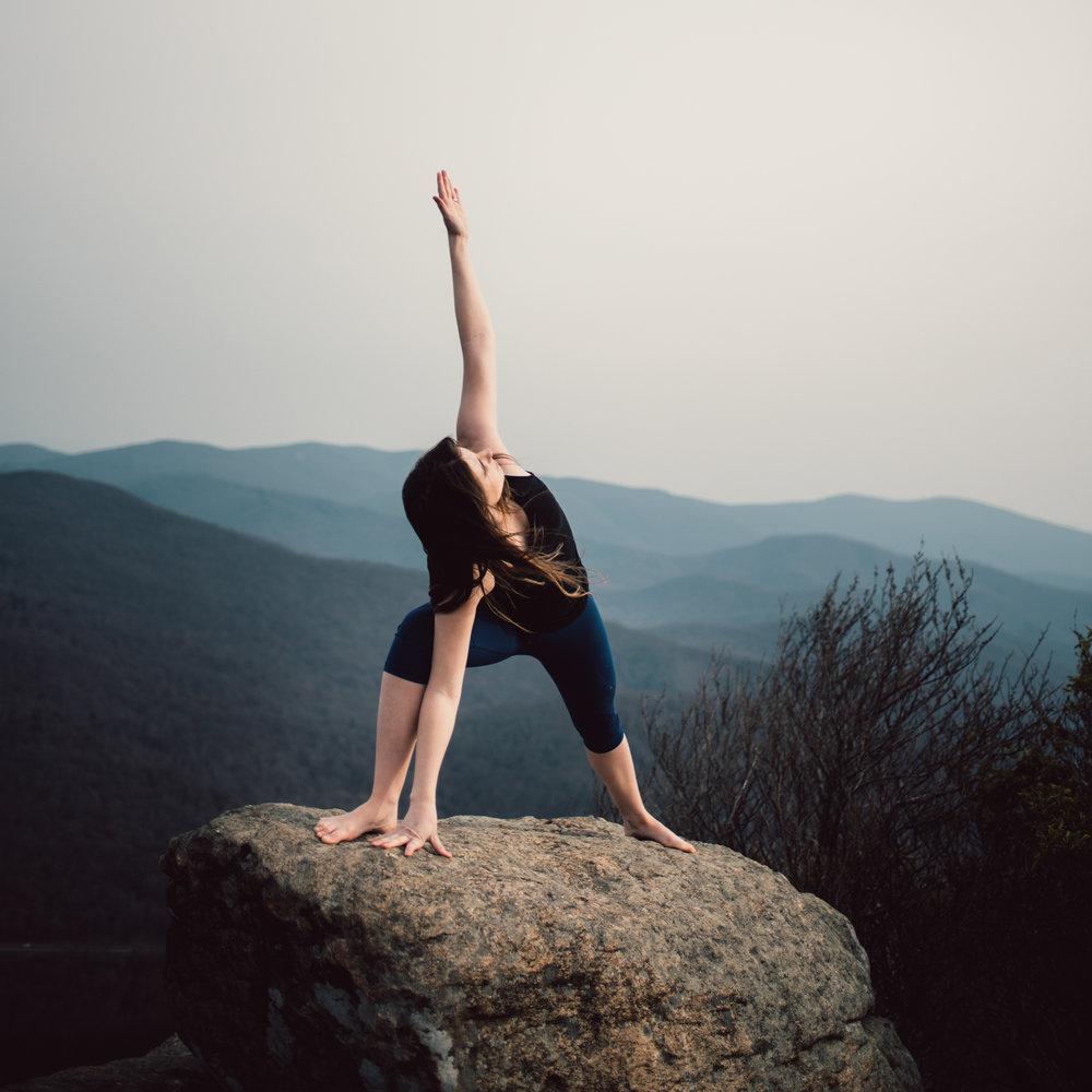 Yoga Mountain Top Yoga Portraits at Shenandoah National Park_8.JPG