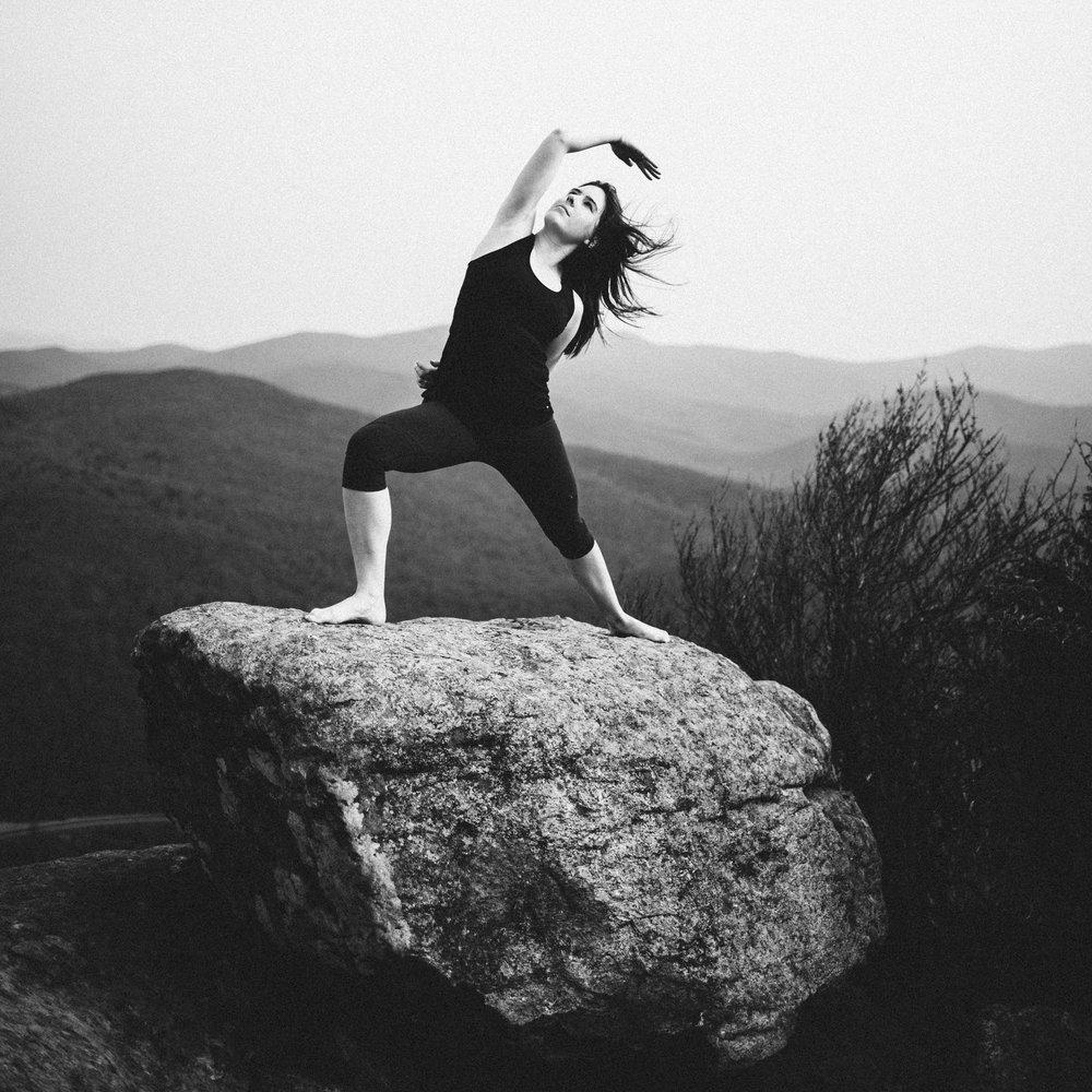 Yoga Mountain Top Yoga Portraits at Shenandoah National Park_7.JPG