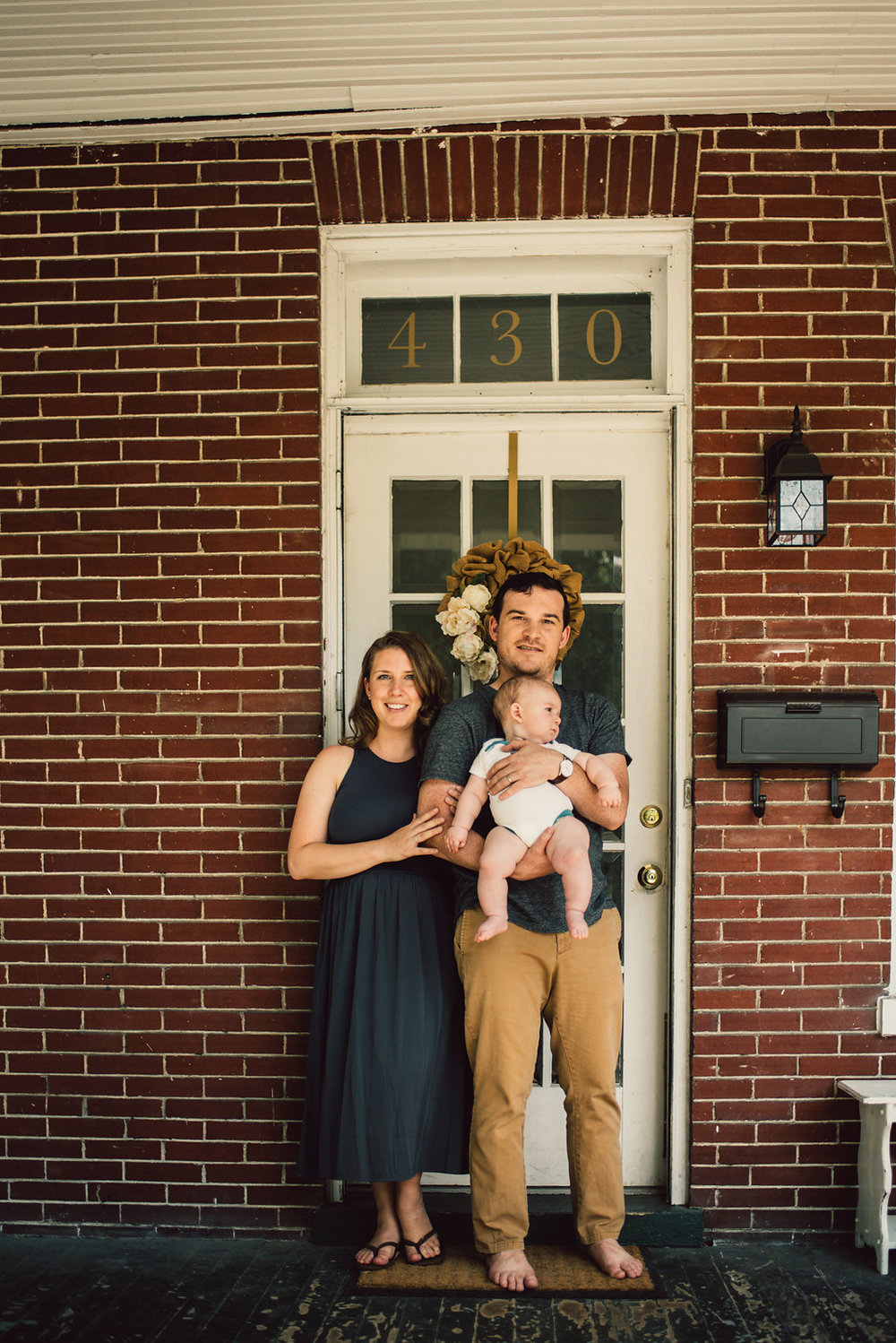 Gorman In Home Family Photography Photo Shoot Downtown Winchester Virginia_22.JPG