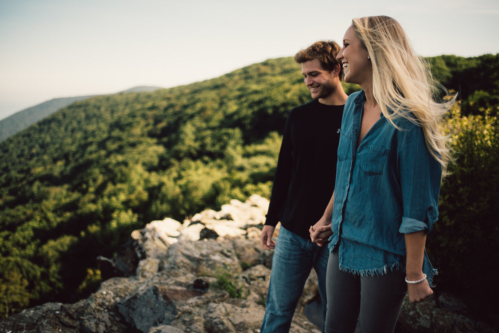 Jp and Kelsey - Shenandoah National Park - Couple Portraits - Adventure Session_33.JPG