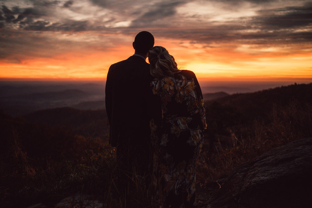 White Sails Creative Sunrise Mountain Engagement Session Shenandoah National Park_1.JPG