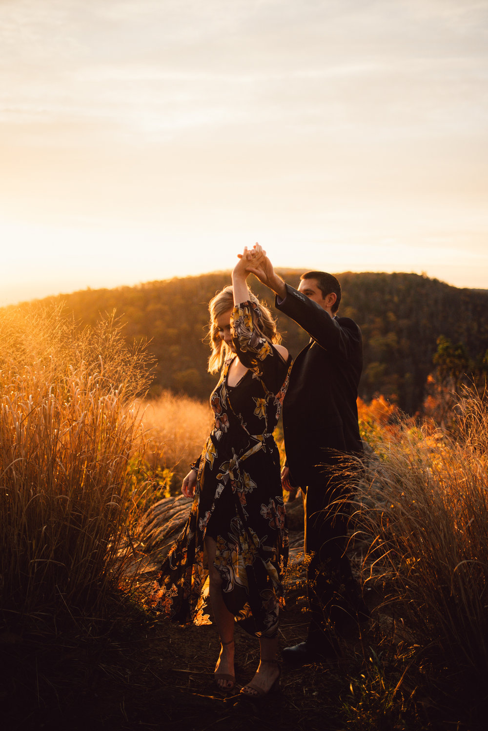 White Sails Creative Sunrise Mountain Engagement Session Shenandoah National Park_11.JPG
