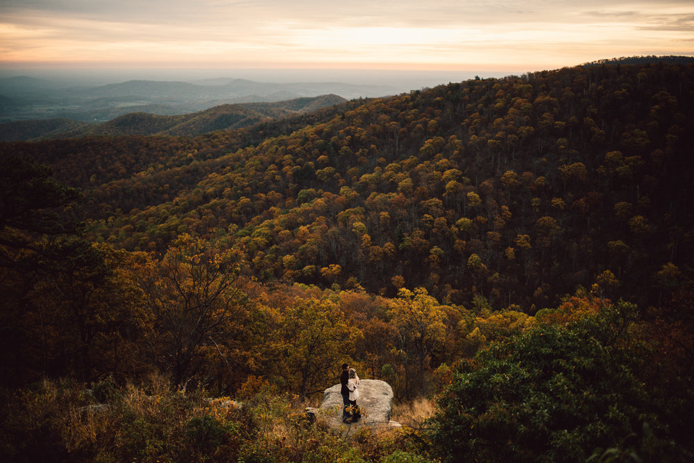 White Sails Creative Sunrise Mountain Engagement Session Shenandoah National Park_12.JPG