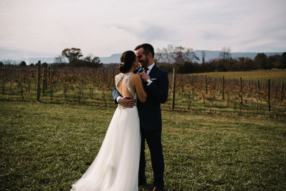 Alyssa and Jesse Winter Vineyard Wedding Luray Virginia Shenandoah Valley Faithbrooke_27.JPG