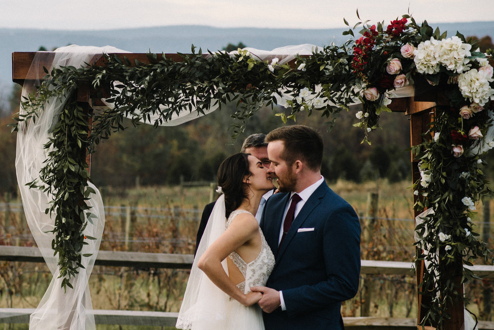 Alyssa and Jesse Winter Vineyard Wedding Luray Virginia Shenandoah Valley Faithbrooke_55.JPG