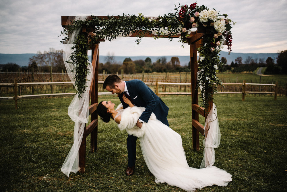 Alyssa and Jesse Winter Vineyard Wedding Luray Virginia Shenandoah Valley Faithbrooke_64.JPG