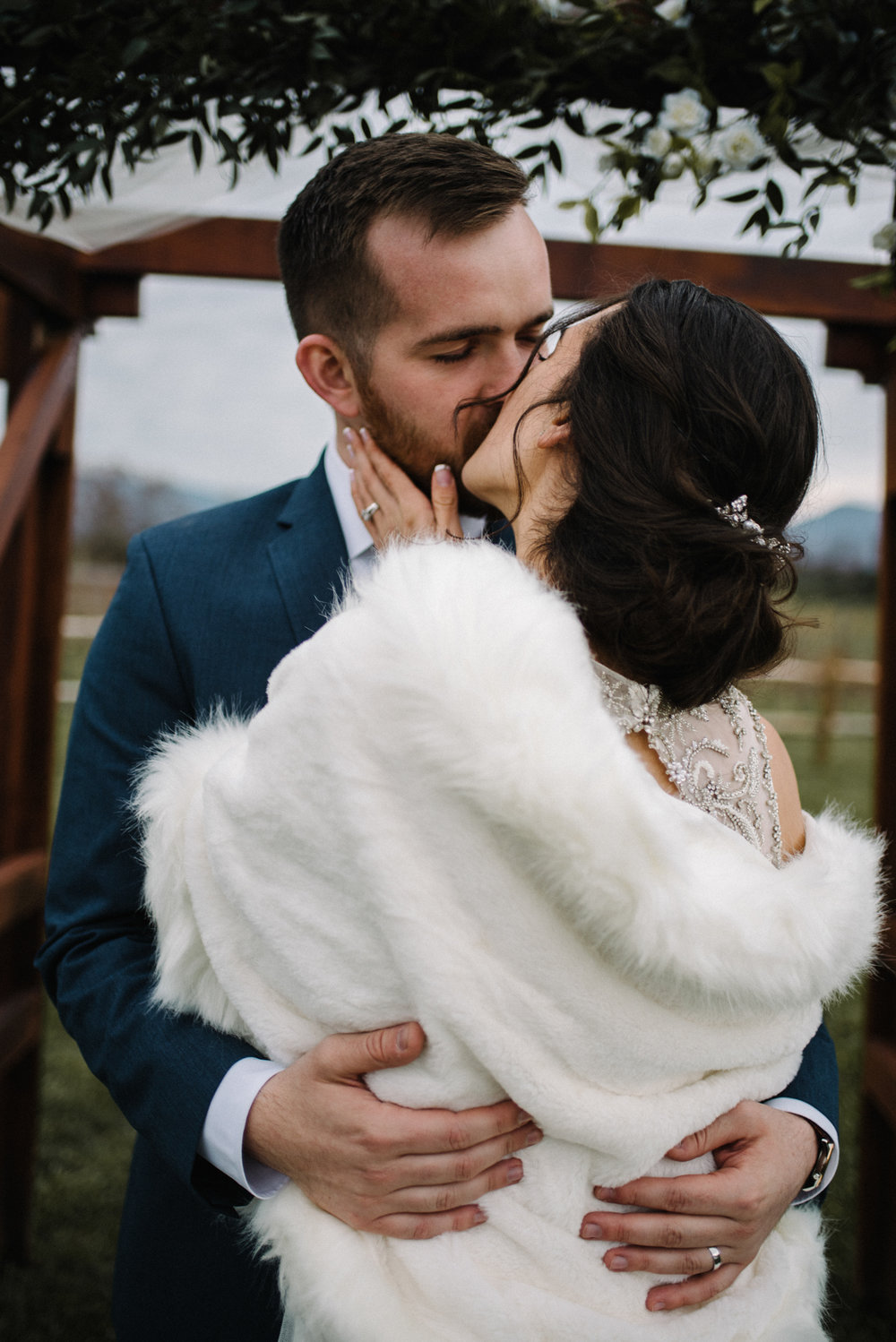 Alyssa and Jesse Winter Vineyard Wedding Luray Virginia Shenandoah Valley Faithbrooke_65.JPG