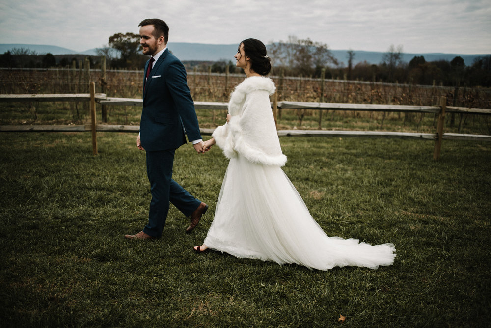 Alyssa and Jesse Winter Vineyard Wedding Luray Virginia Shenandoah Valley Faithbrooke_69.JPG