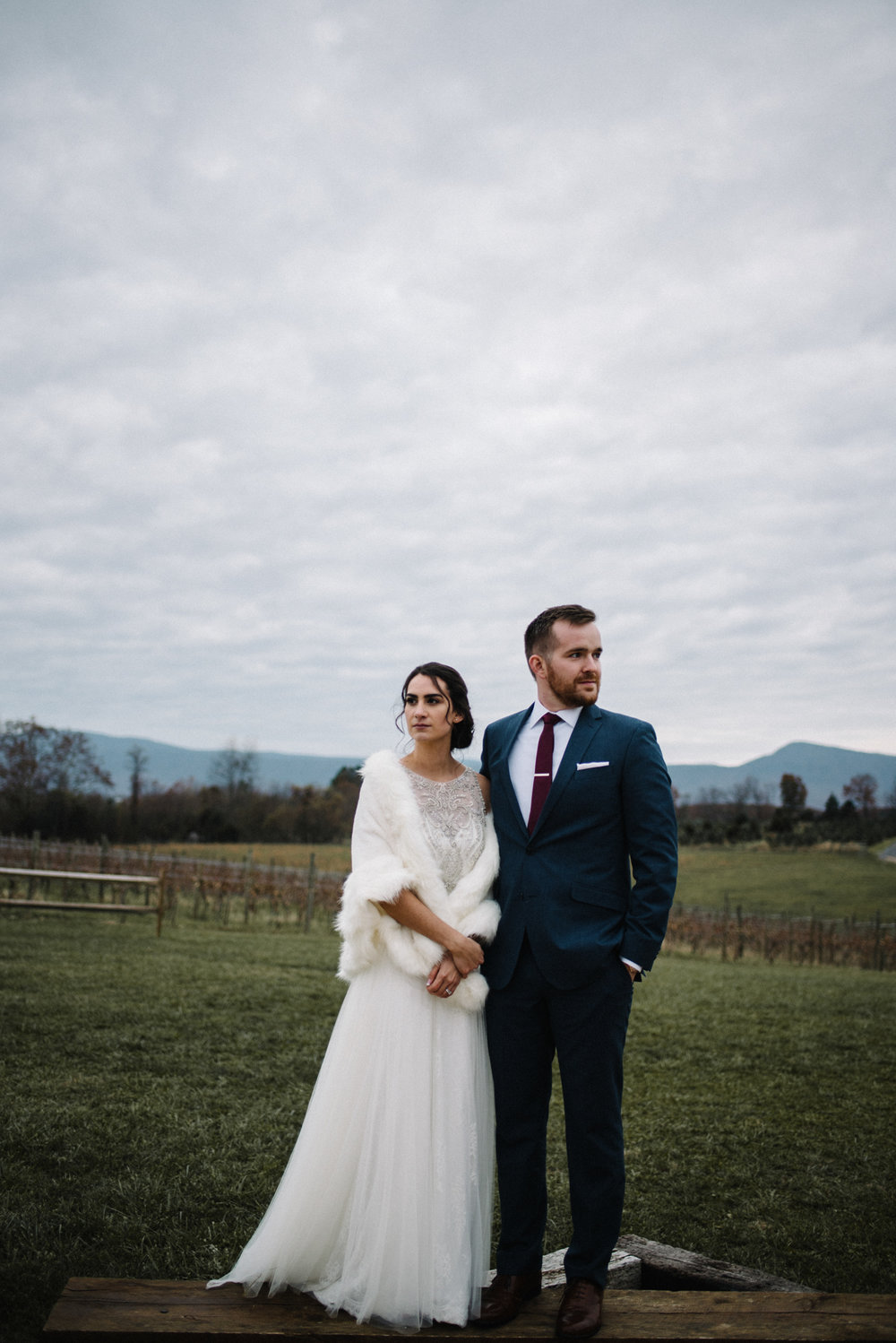 Alyssa and Jesse Winter Vineyard Wedding Luray Virginia Shenandoah Valley Faithbrooke_71.JPG
