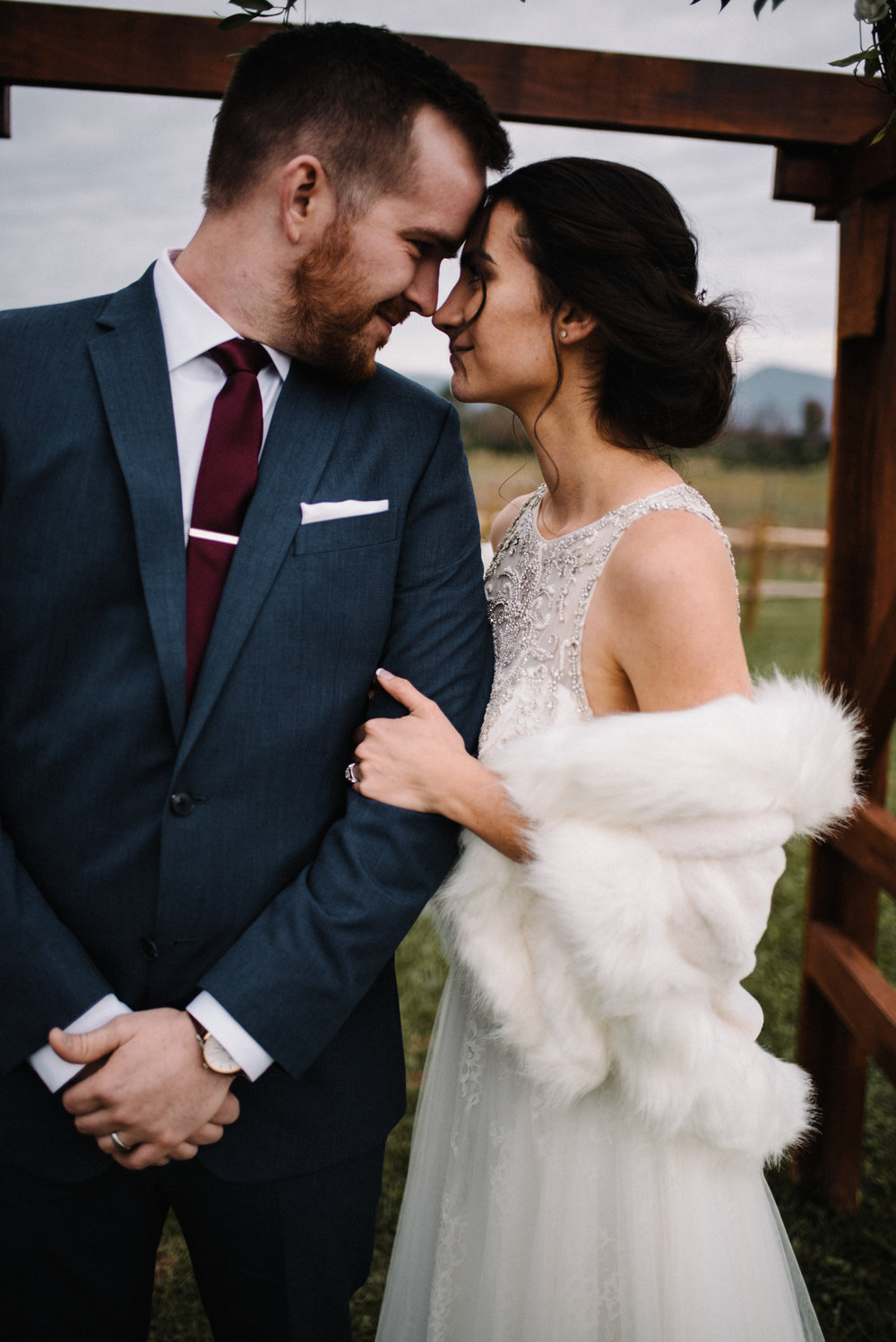 Alyssa and Jesse Winter Vineyard Wedding Luray Virginia Shenandoah Valley Faithbrooke_75.JPG