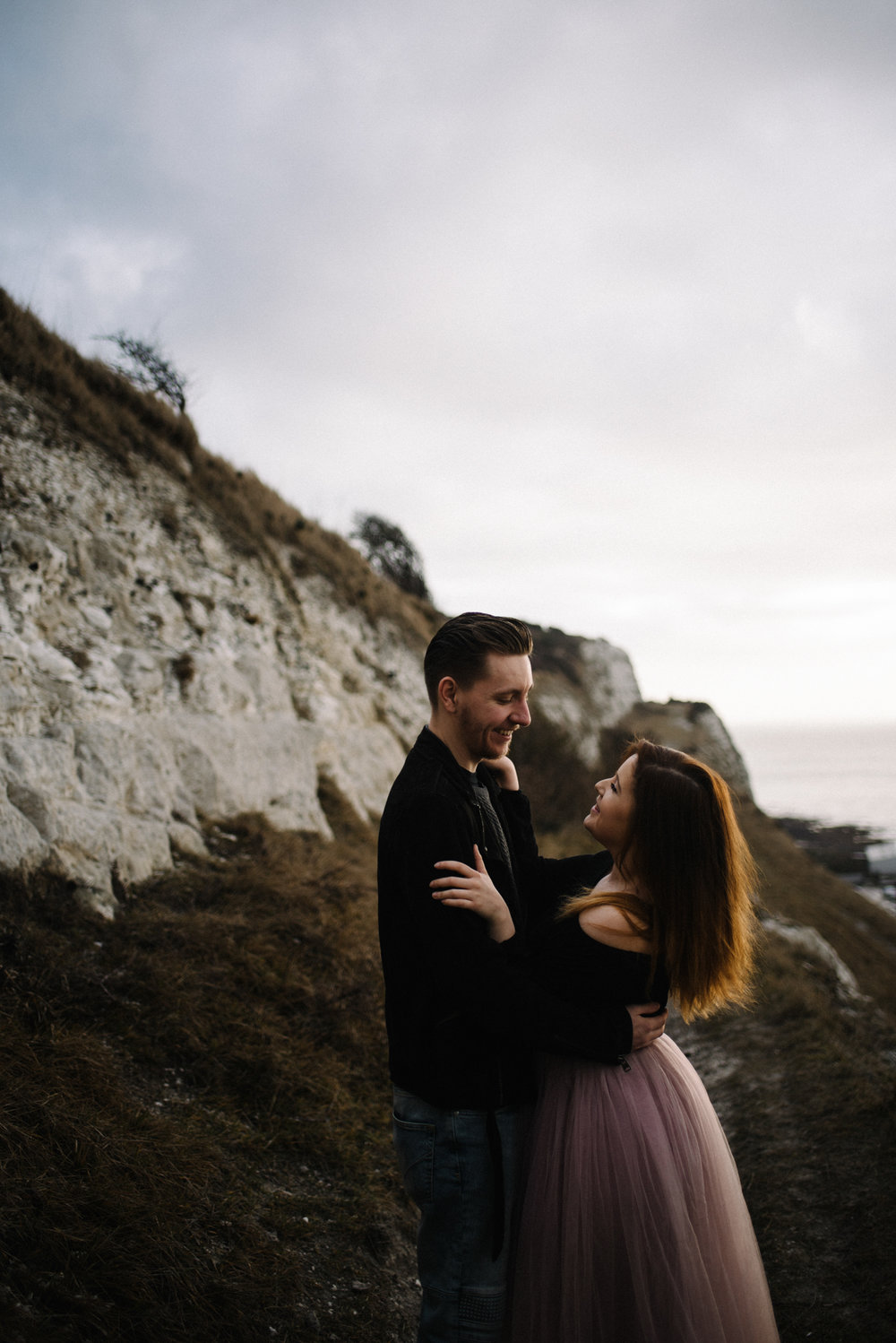 Jade and Dean White Cliffs of Dover Couple Session_3.JPG