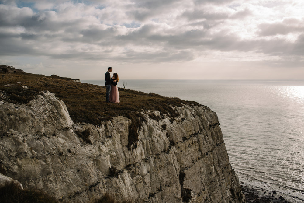 Jade and Dean White Cliffs of Dover Couple Session_20.JPG