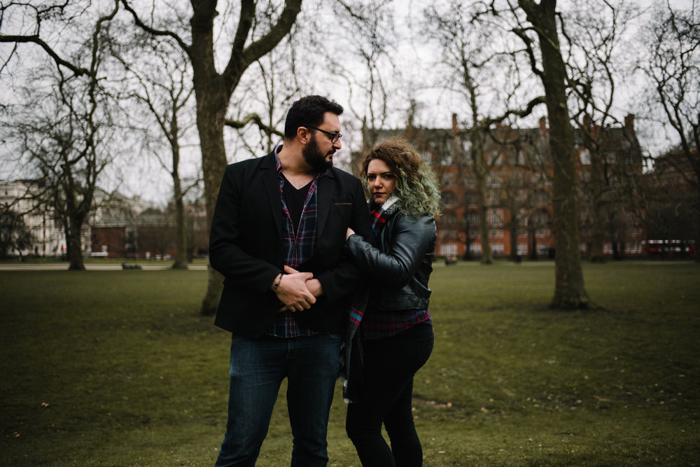 Lore and Rami Couple Portrait Session Hyde Park London England_9.JPG