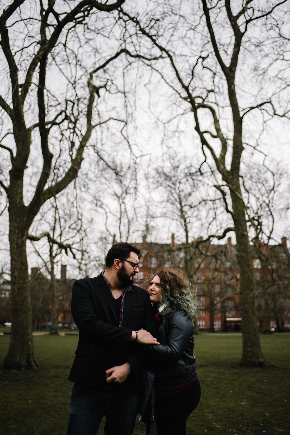 Lore and Rami Couple Portrait Session Hyde Park London England_11.JPG