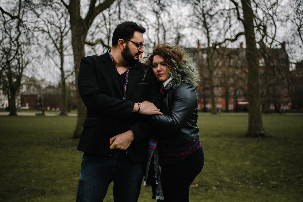 Lore and Rami Couple Portrait Session Hyde Park London England_13.JPG