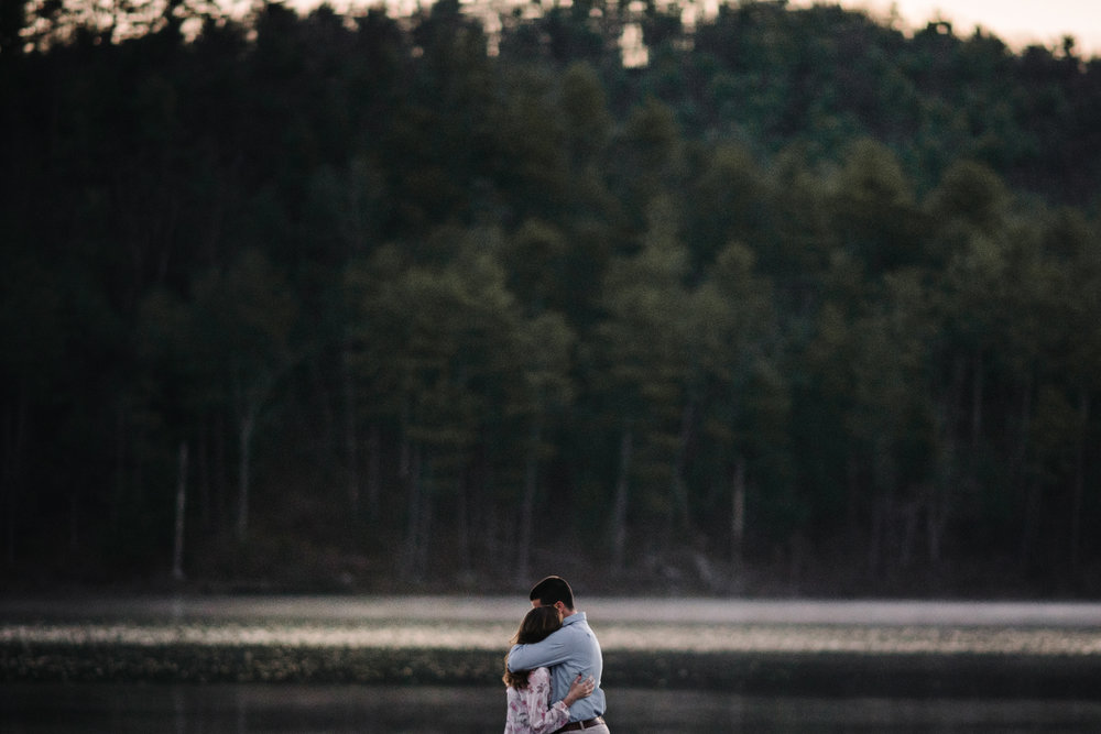 Sunrise Lake Engagement Photos - Early Morning - Couple Photo Shoot - White Sails Adventure Photography_0.JPG