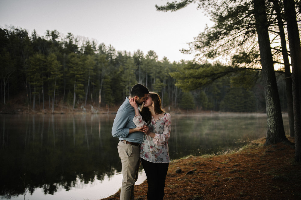 Sunrise Lake Engagement Photos - Early Morning - Couple Photo Shoot - White Sails Adventure Photography_25.JPG