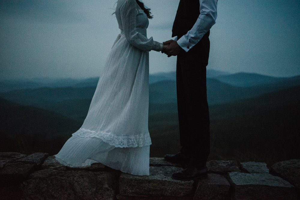 Lisa and Stuart - Post Wedding Couple Portraits - White Sails Creative - Blue Ridge Mountains - Sunrise Shenandoah National Park_5.JPG