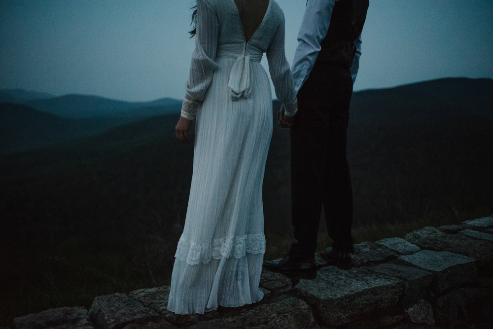 Lisa and Stuart - Post Wedding Couple Portraits - White Sails Creative - Blue Ridge Mountains - Sunrise Shenandoah National Park_10.JPG