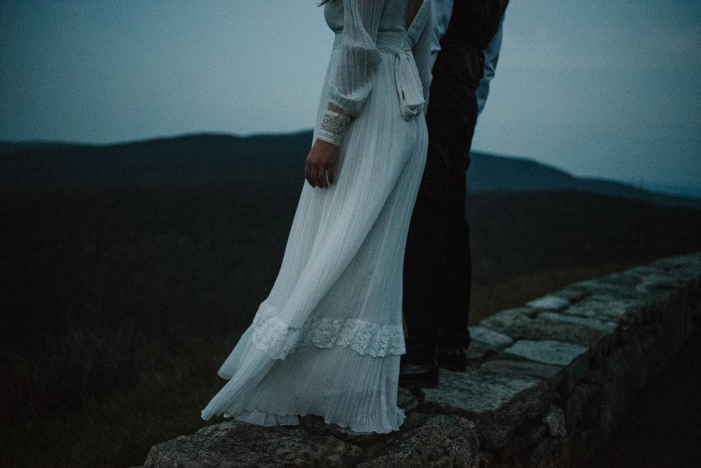 Lisa and Stuart - Post Wedding Couple Portraits - White Sails Creative - Blue Ridge Mountains - Sunrise Shenandoah National Park_11.JPG