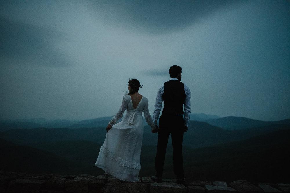 Lisa and Stuart - Post Wedding Couple Portraits - White Sails Creative - Blue Ridge Mountains - Sunrise Shenandoah National Park_12.JPG