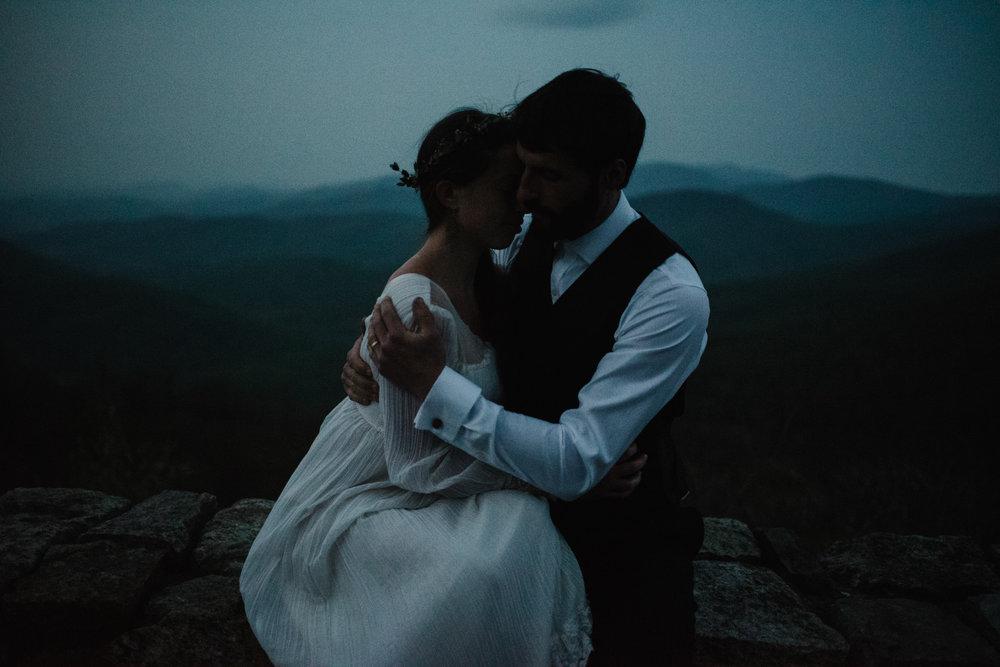 Lisa and Stuart - Post Wedding Couple Portraits - White Sails Creative - Blue Ridge Mountains - Sunrise Shenandoah National Park_57.JPG