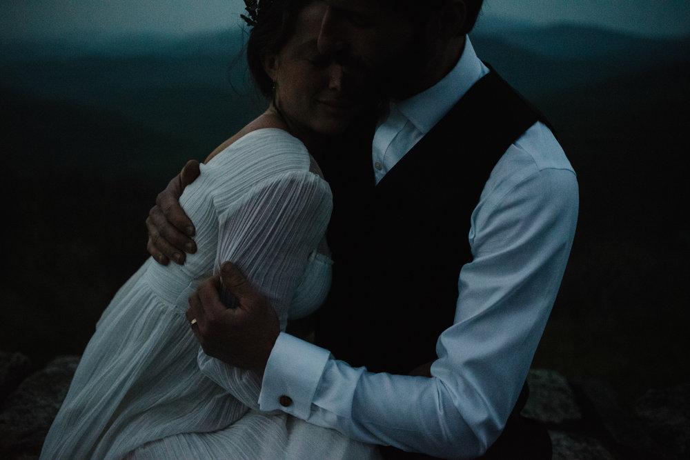 Lisa and Stuart - Post Wedding Couple Portraits - White Sails Creative - Blue Ridge Mountains - Sunrise Shenandoah National Park_58.JPG