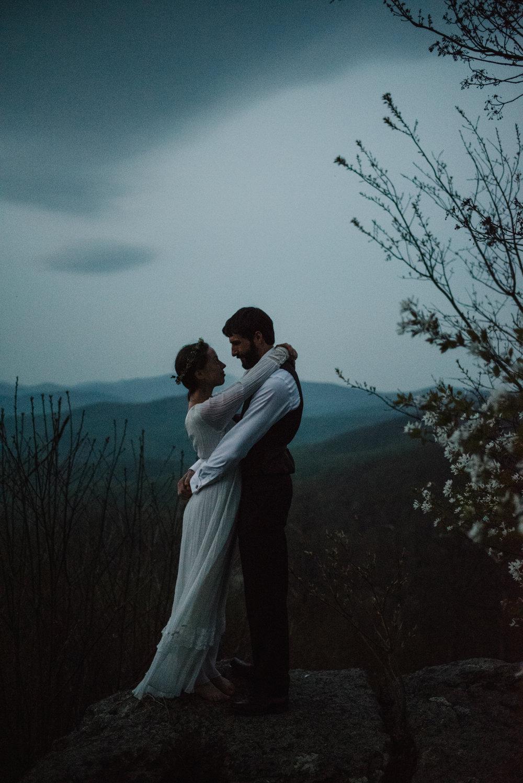 Lisa and Stuart - Post Wedding Couple Portraits - White Sails Creative - Blue Ridge Mountains - Sunrise Shenandoah National Park_17.JPG