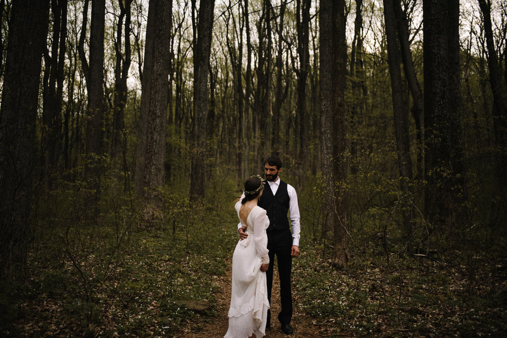 Lisa and Stuart - Post Wedding Couple Portraits - White Sails Creative - Blue Ridge Mountains - Sunrise Shenandoah National Park_30.JPG