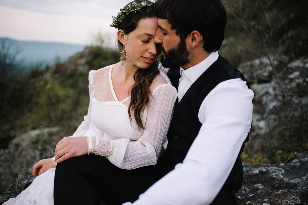 Lisa and Stuart - Post Wedding Couple Portraits - White Sails Creative - Blue Ridge Mountains - Sunrise Shenandoah National Park_32.JPG