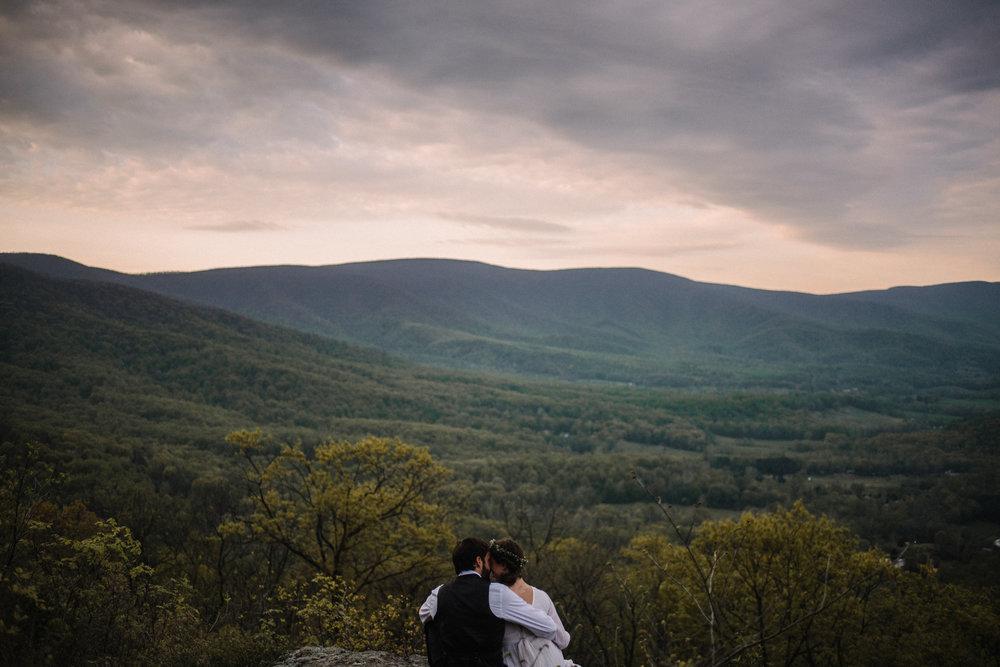 Lisa and Stuart - Post Wedding Couple Portraits - White Sails Creative - Blue Ridge Mountains - Sunrise Shenandoah National Park_35.JPG