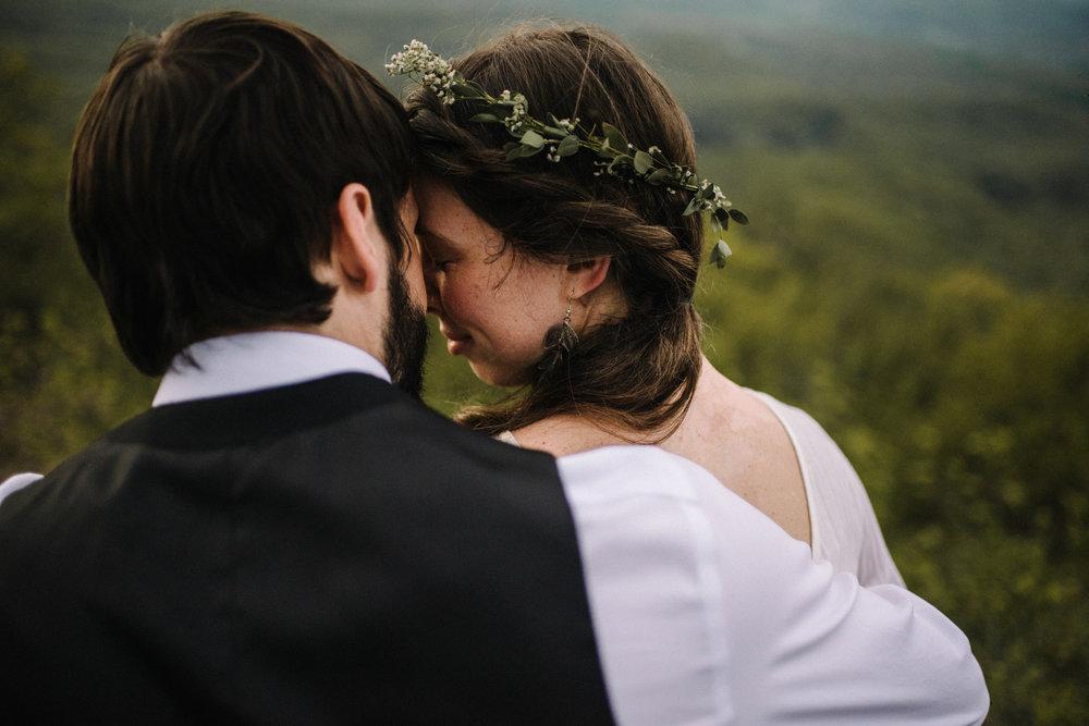 Lisa and Stuart - Post Wedding Couple Portraits - White Sails Creative - Blue Ridge Mountains - Sunrise Shenandoah National Park_36.JPG