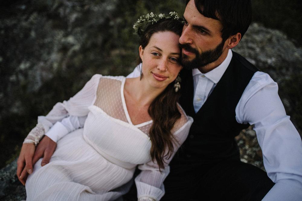 Lisa and Stuart - Post Wedding Couple Portraits - White Sails Creative - Blue Ridge Mountains - Sunrise Shenandoah National Park_40.JPG
