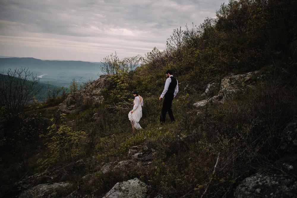 Lisa and Stuart - Post Wedding Couple Portraits - White Sails Creative - Blue Ridge Mountains - Sunrise Shenandoah National Park_41.JPG