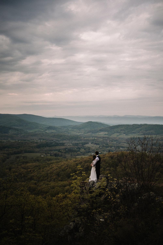 Lisa and Stuart - Post Wedding Couple Portraits - White Sails Creative - Blue Ridge Mountains - Sunrise Shenandoah National Park_42.JPG