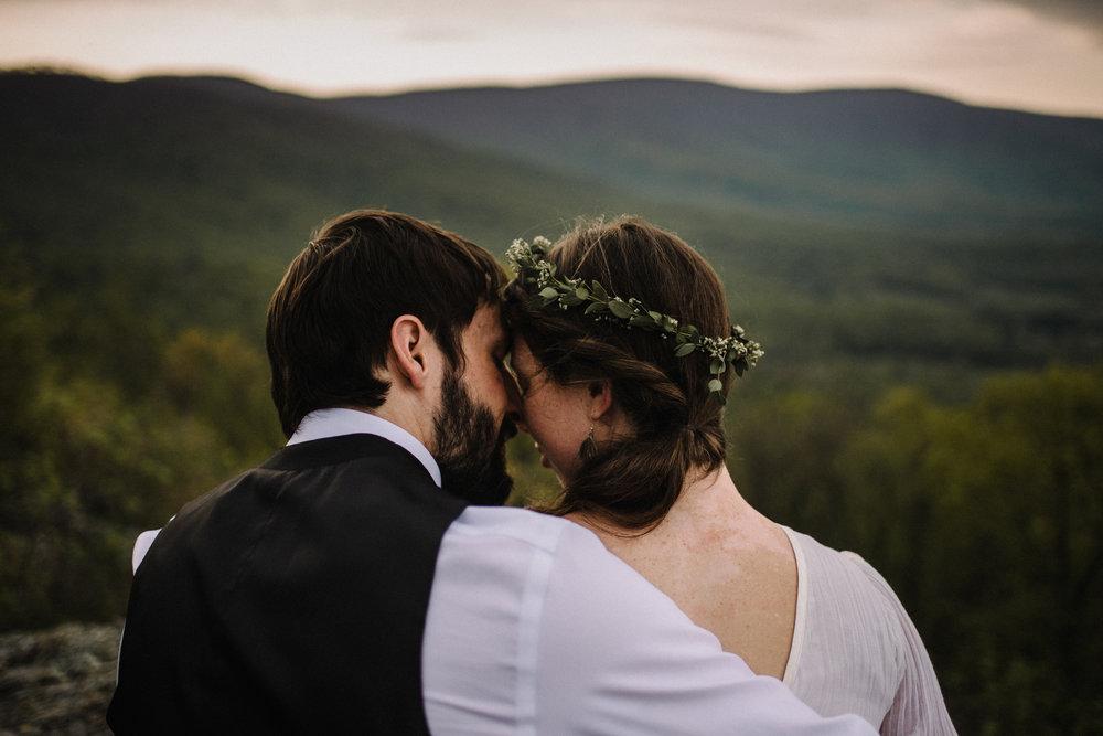 Lisa and Stuart - Post Wedding Couple Portraits - White Sails Creative - Blue Ridge Mountains - Sunrise Shenandoah National Park_43.JPG