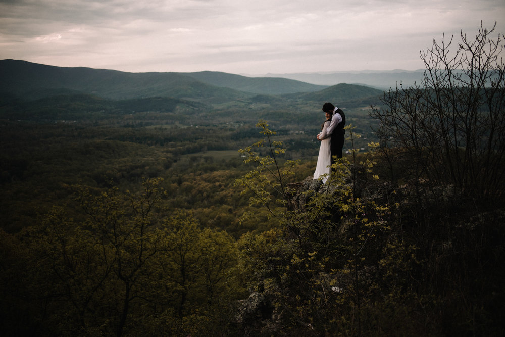Lisa and Stuart - Post Wedding Couple Portraits - White Sails Creative - Blue Ridge Mountains - Sunrise Shenandoah National Park_44.JPG