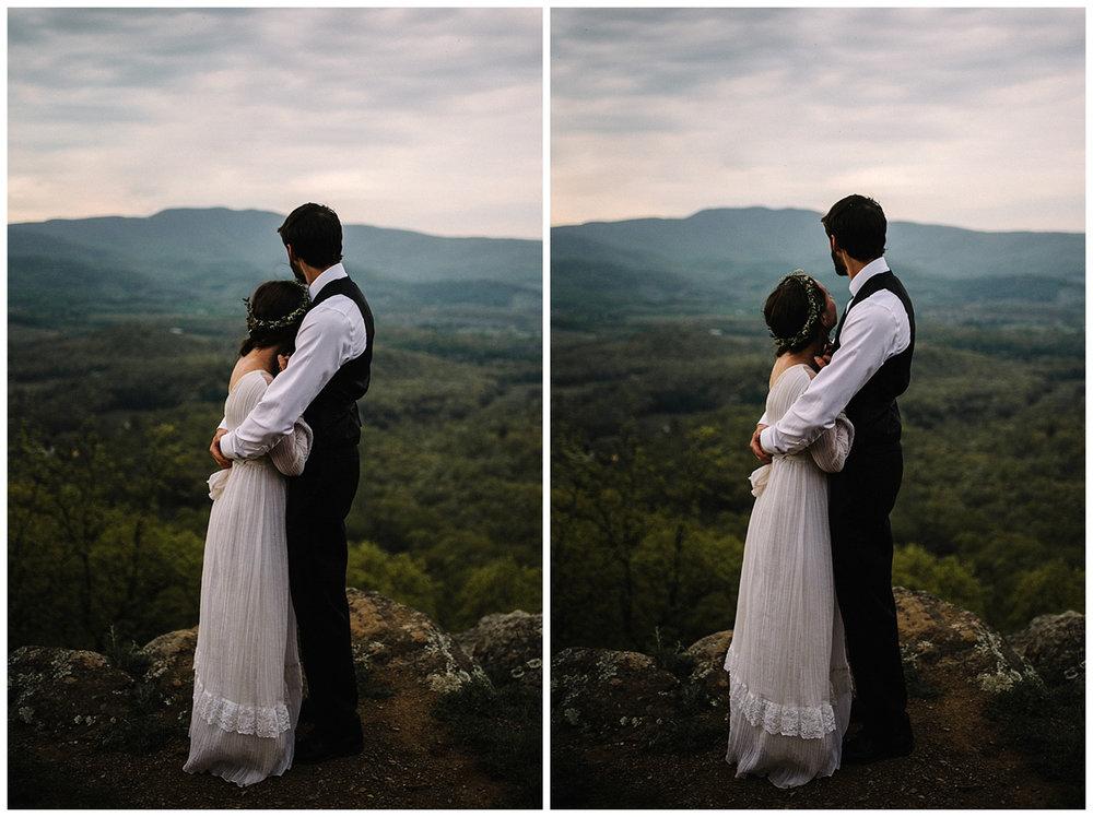 Lisa and Stuart - Post Wedding Couple Portraits - White Sails Creative - Blue Ridge Mountains - Sunrise Shenandoah National Park_55.JPG