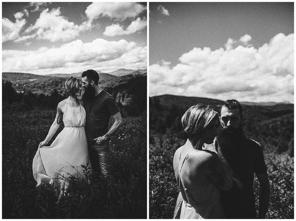 Justyn and Cj - Boone North Carolina - Blue Ridge Mountains - Adventure Couple Session - White Sails Creative_5.jpg
