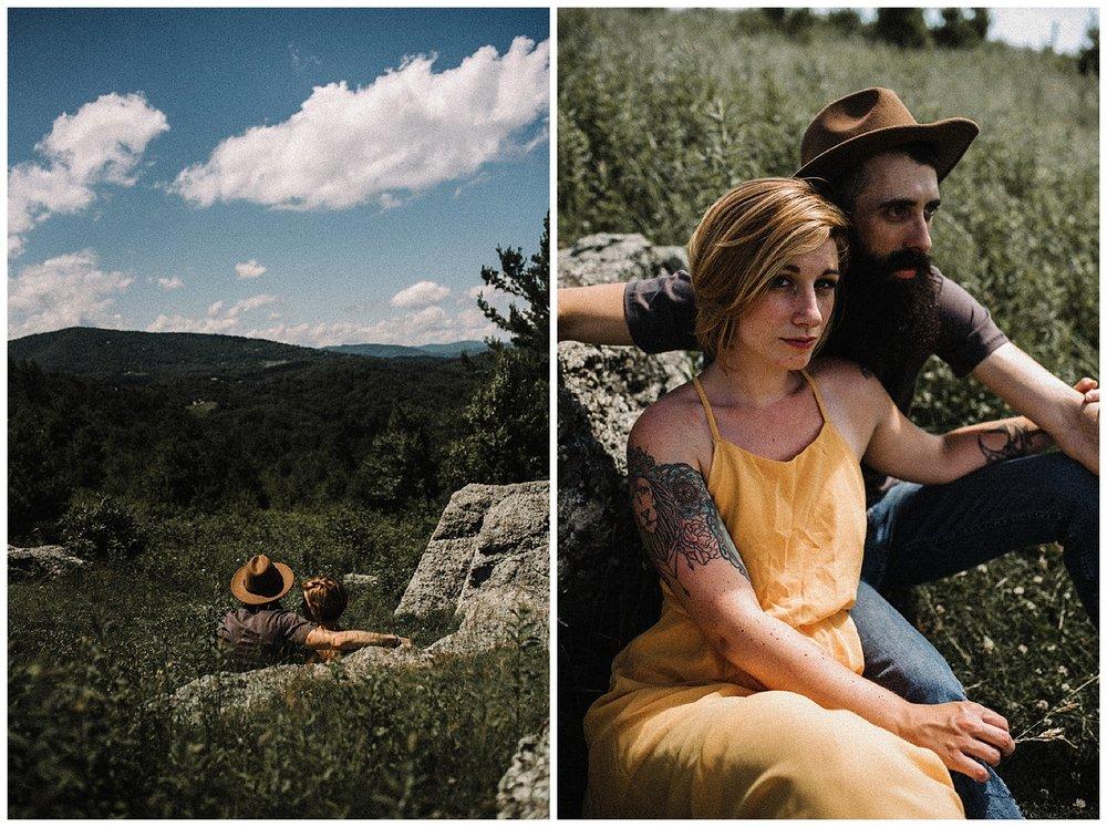 Justyn and Cj - Boone North Carolina - Blue Ridge Mountains - Adventure Couple Session - White Sails Creative_15.jpg