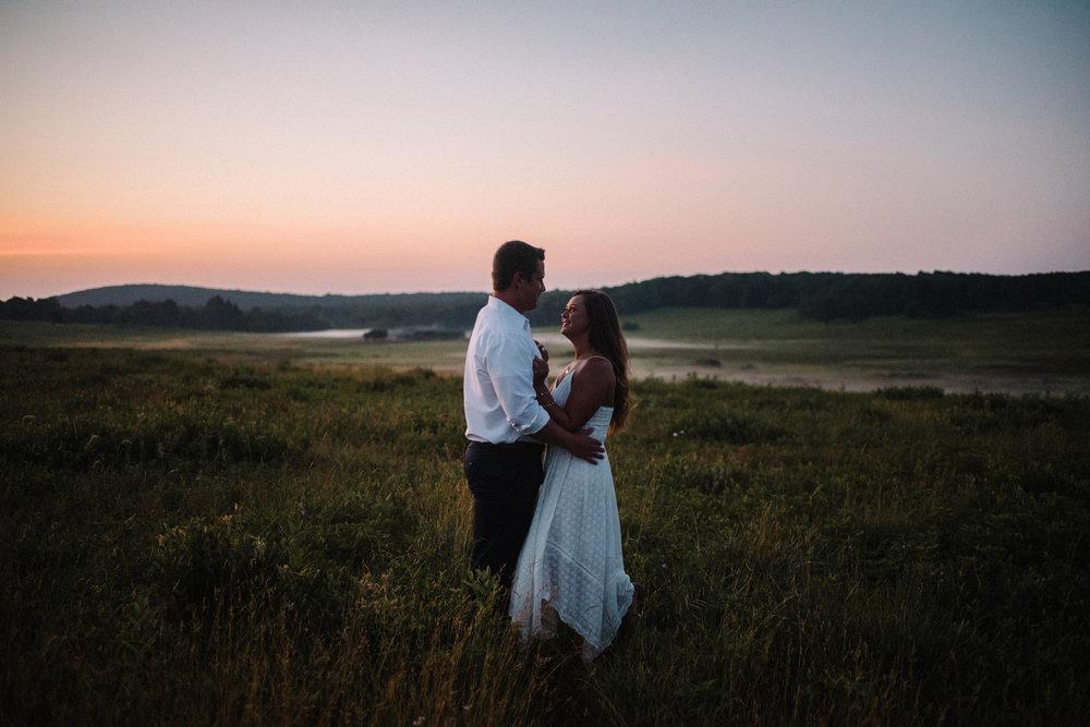 Erin and Matt - Shenandoah National Park Adventurous Sunrise Engagement Couple Photos - White Sails Creative_2.JPG